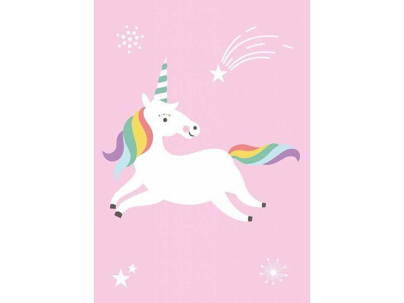 Poster Babykamer Pastel : Poster unicorn voor op de babykamer 17 95 kleinepom.nl posters
