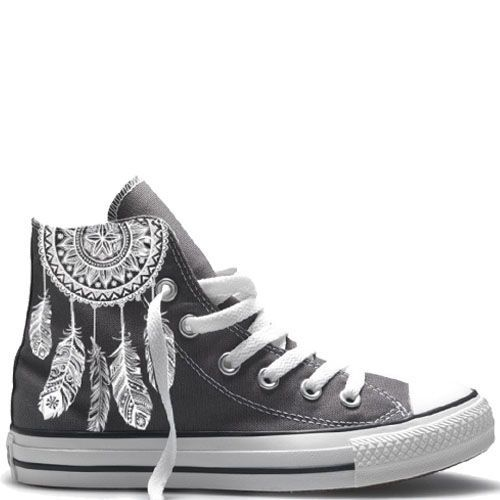 UNiCKZ Converse Mandala Dreamcatcher | Converse schoenen ...