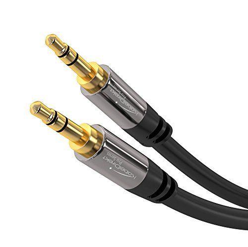 Jetzt verfügbar KabelDirekt Aux Kabel (2 m kurz, Audio Stereo ...