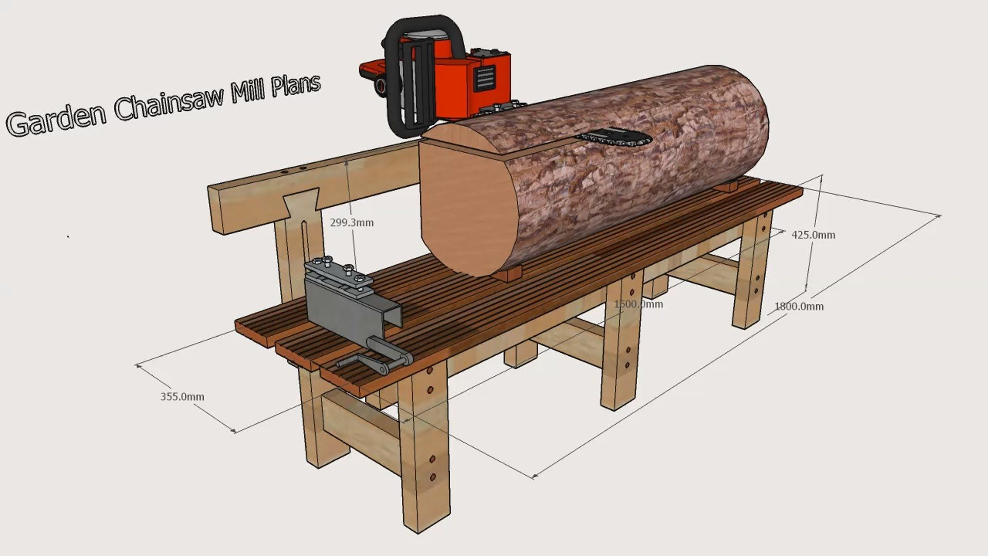 Garden Chainsaw Mill Plans Tools For Wood Бензопилы