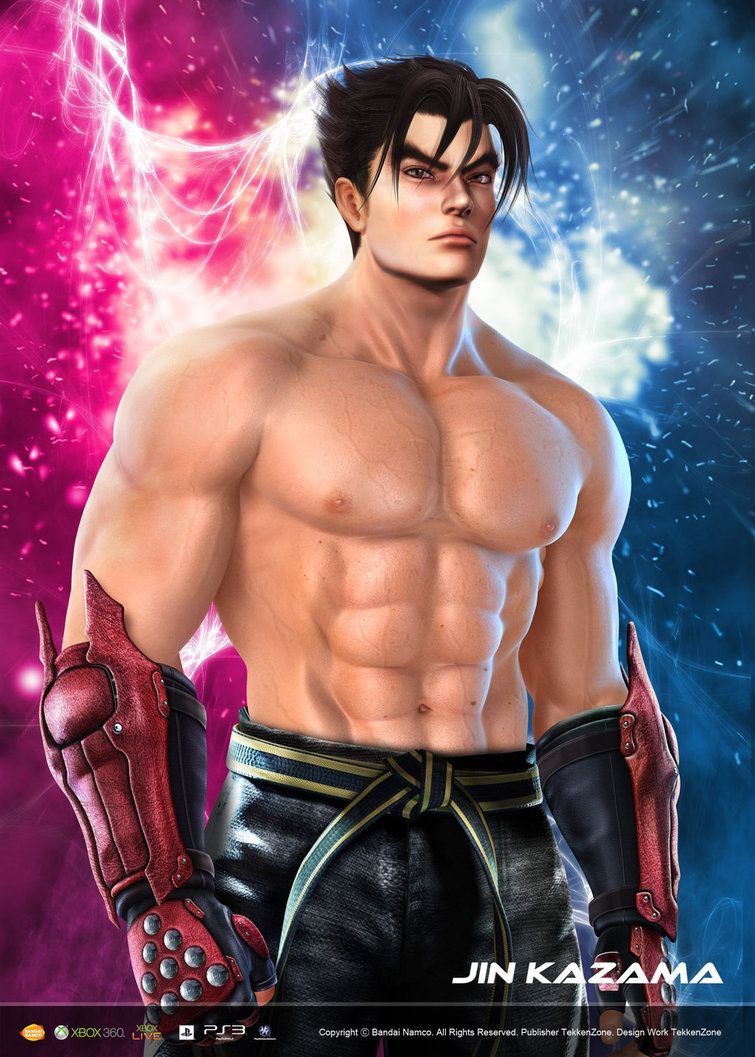 Jin Kazama Hd By Yoshi Lee On Deviantart Tekken Pinterest Jin