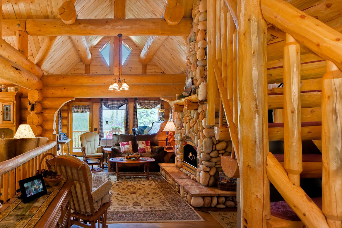 <3 <3 prittyl log cadins | Breckenridge Video Tours: Log Home in Blue River