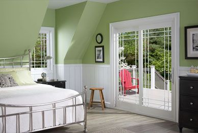 When you stop into a room infused with beautiful sunlight you immediately feel the relaxing warmth. There's nothing like a patio door to give your home this airy and welcoming ambiance. Find this Promenade door and more Alside design ideas at www.alside.com