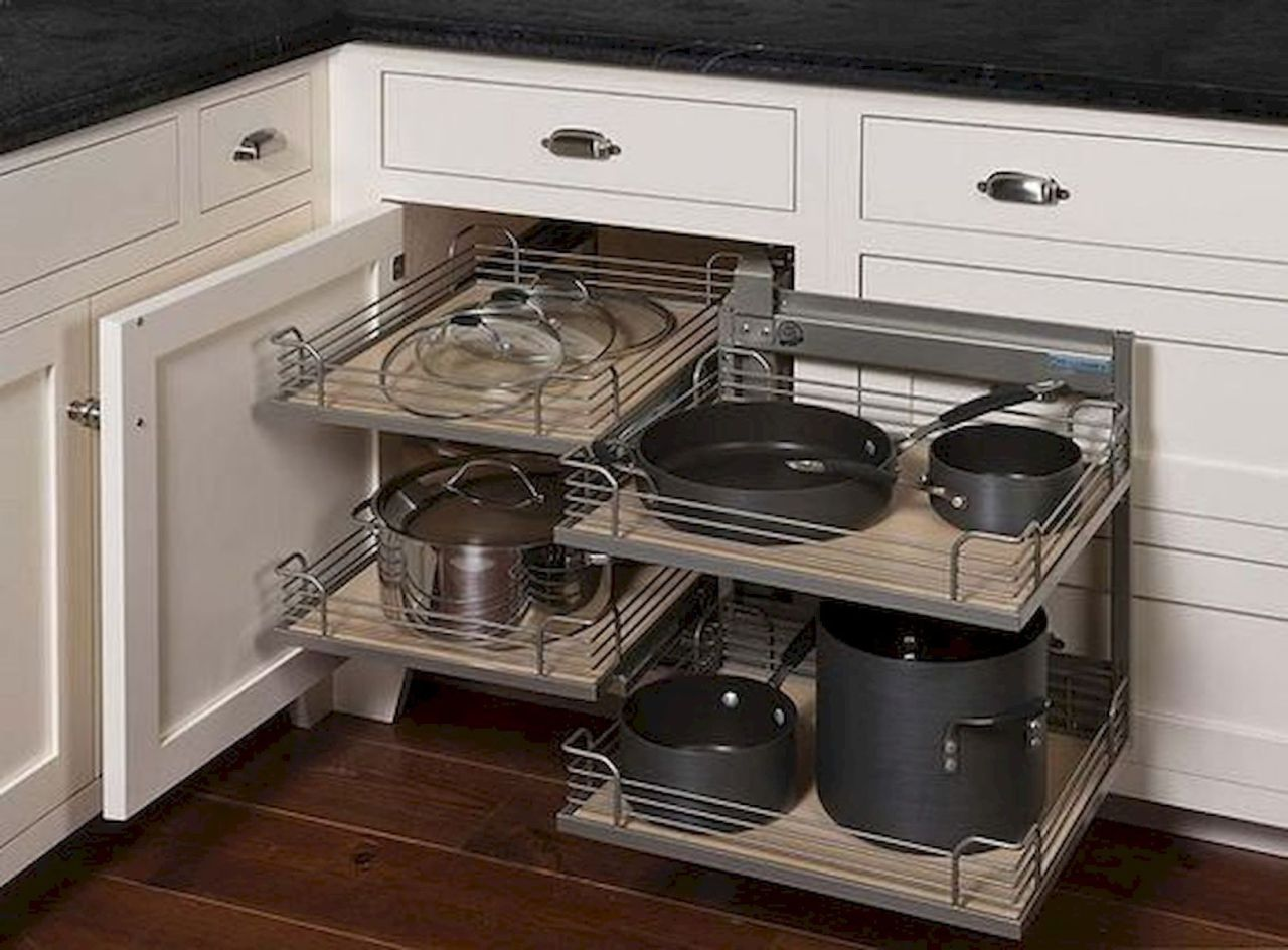 20 Excellent Kitchen Remodel Before And After Ideas In 2021 Corner Kitchen Cabinet Kitchen Cabinet Storage Kitchen Corner