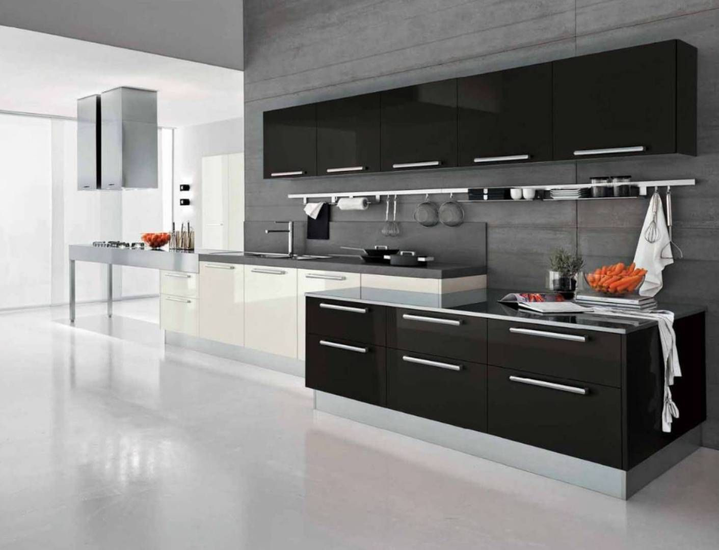 Ways to achieve the perfect black and white kitchen kitchens