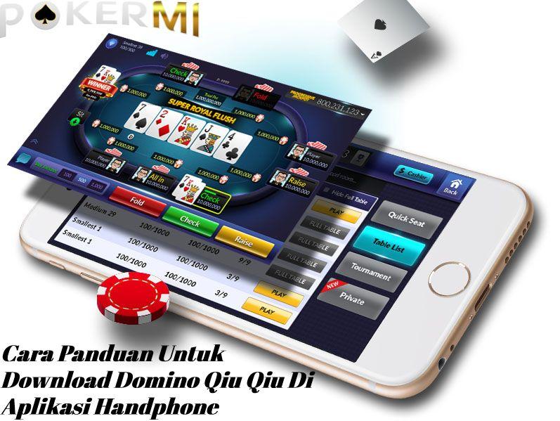 Cara Panduan Untuk Download Domino Qiu Qiu Di Aplikasi ...
