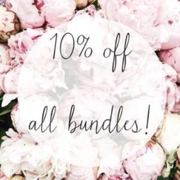 10% off two or more items!!! 10% off two or more items!!! Only interested in one item but don't like the price, make an offer. Prices can be negotiable. Other