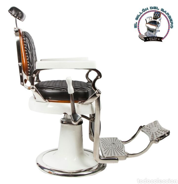 Sillon de barbero antiguo Jaso año 1930 is part of Barber chair - Comprar Sillones Antiguos  Sillon de barbero antiguo jaso año 1930  Lote 86167187