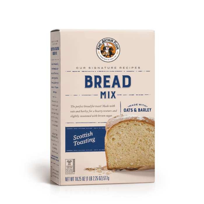 Scottish Toasting Bread Mix Shop King Arthur In 2020 Bread Mix Apple Crisp Bread