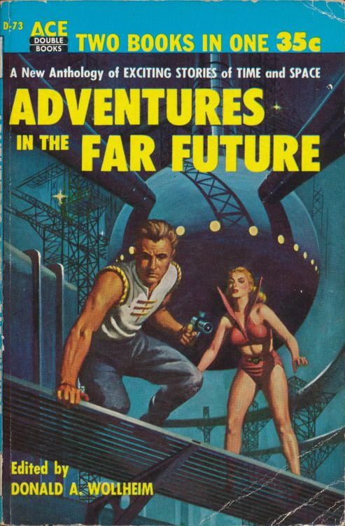 Image result for adventures in the far future pulp cover