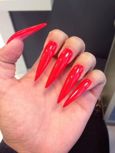 If You Like What You See Follow Me Pin Lxlprxncesss Give Me More Board Ideas Long Red Nails Red Nails Coffin Nails