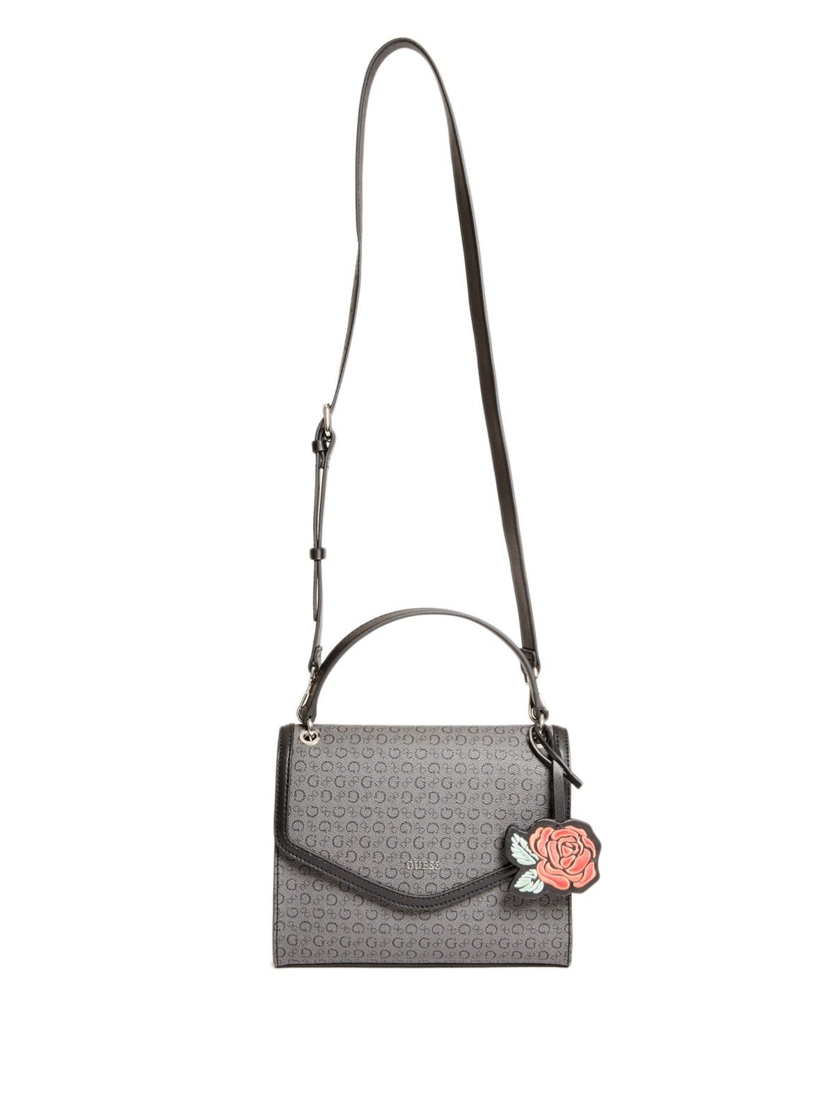 406aad9cbd05 Details about GUESS Factory Women's Rosario Logo Satchel   26. bags ...