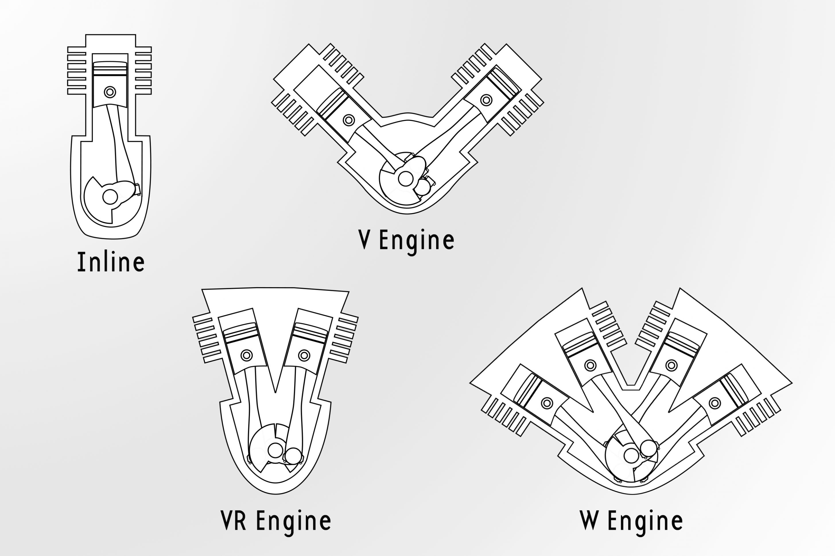 Diagram Of W7 Engine Di 2020 Dengan Gambar Teknik Mesin Teknik