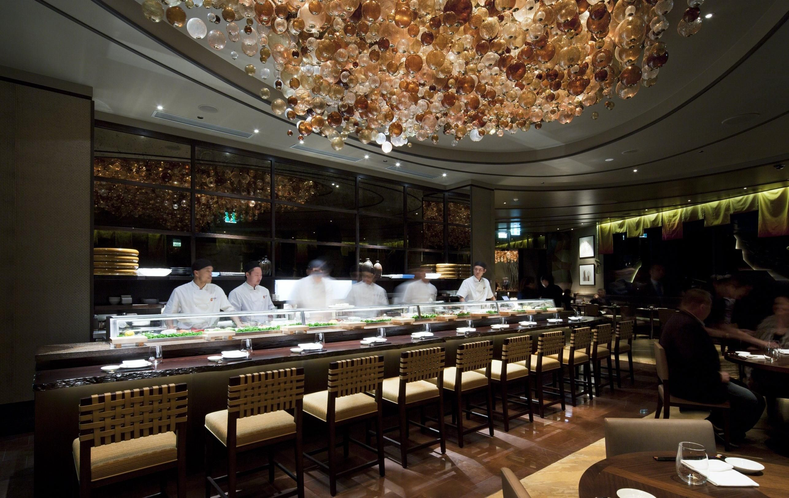 The Prestigious And World Class Nobu Japanese Restaurant At Crown Perth