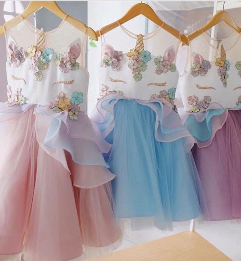 b6d2313ae8c PREORDER Unicorn Birthday Dress. PREORDER Unicorn Birthday Dress 8th  Birthday, Baby Girl ...