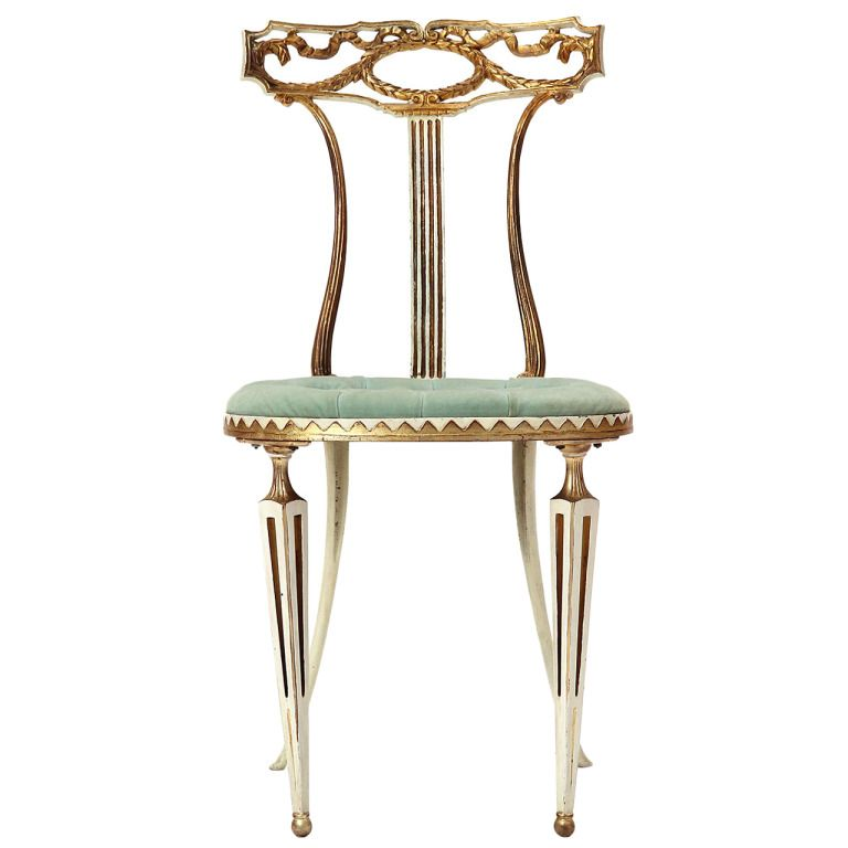 Italian Occasional Chair | From A Unique Collection Of Antique And Modern Side  Chairs At Http