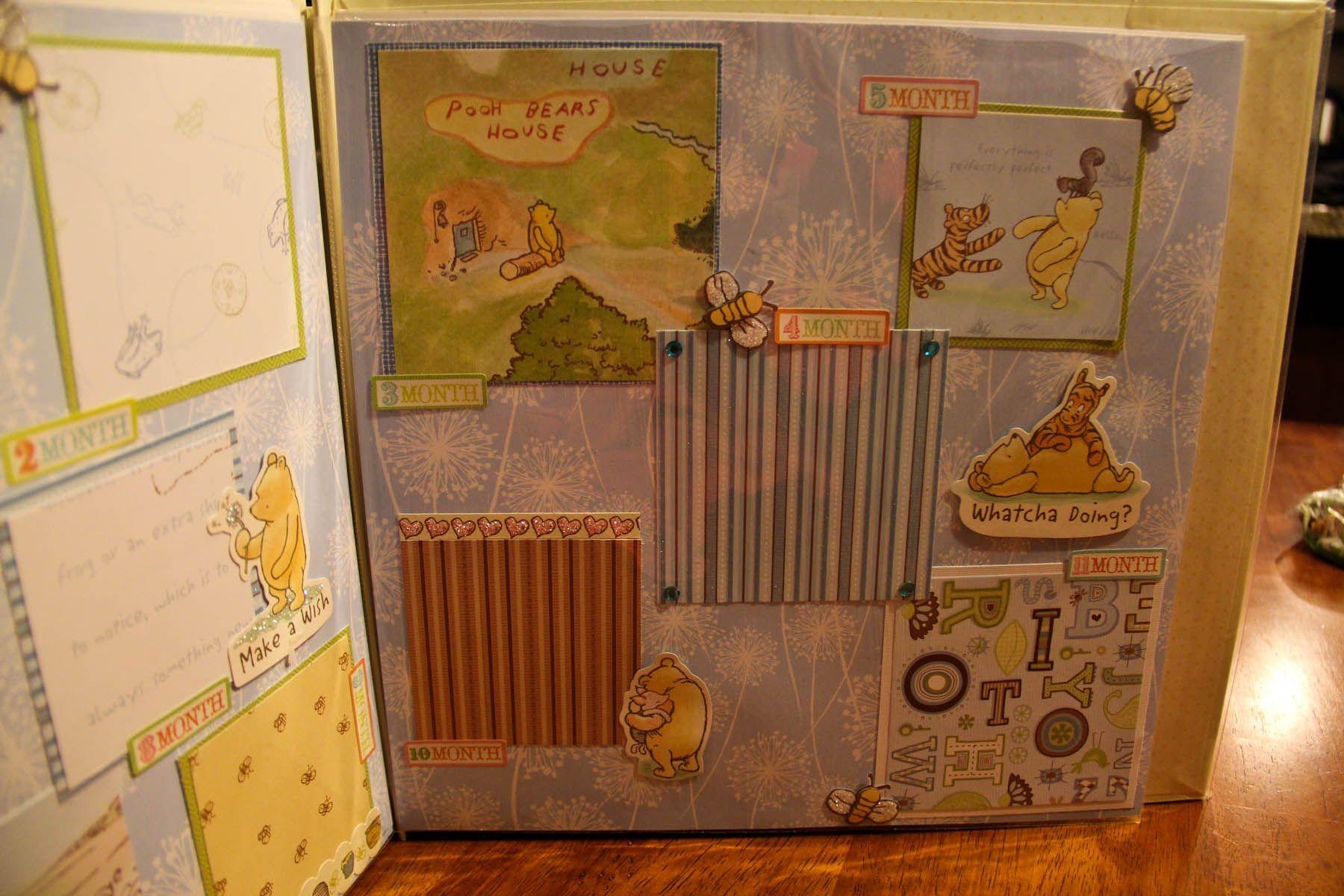 12x12 Baby Boy Book