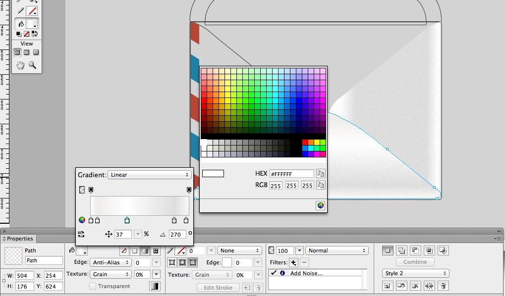 Adobe Illustrator & tutorial Create a 3D vector