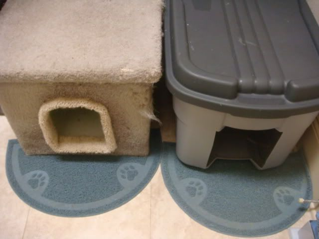 Cheap Litter Box DIY--in case we canu0027t find one to easily : high sided cat litter box - Aboutintivar.Com