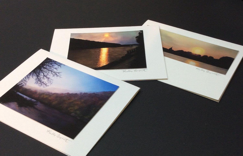 Fine Art Greeting Cards Set Of 3 By Kellybryantstudio13 On Etsy