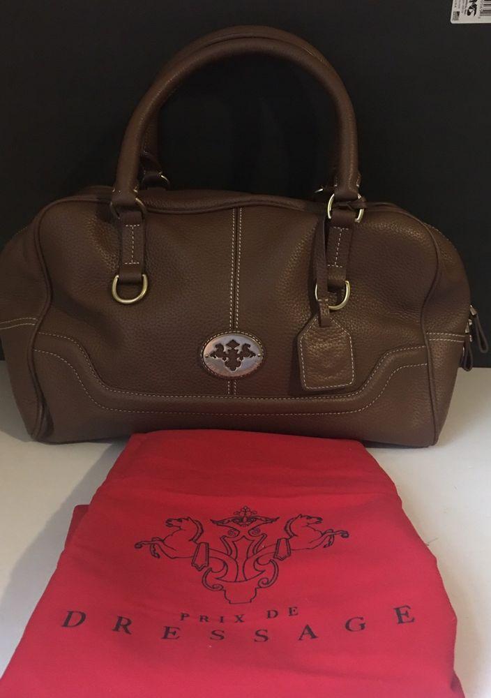 Prix De Dressage Handbag Purse Leather New Ebay