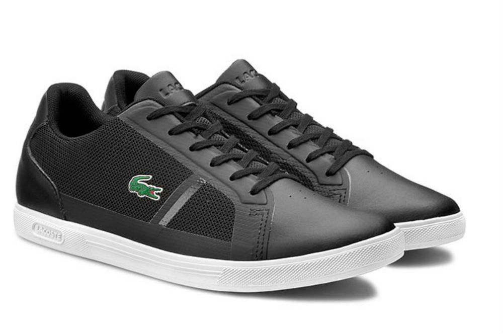 be7e84b9f5ad Men s Lacoste Strideur 116 1 SPM 7-31SPM0013024 black trainers  Lacoste   FashionSneakers