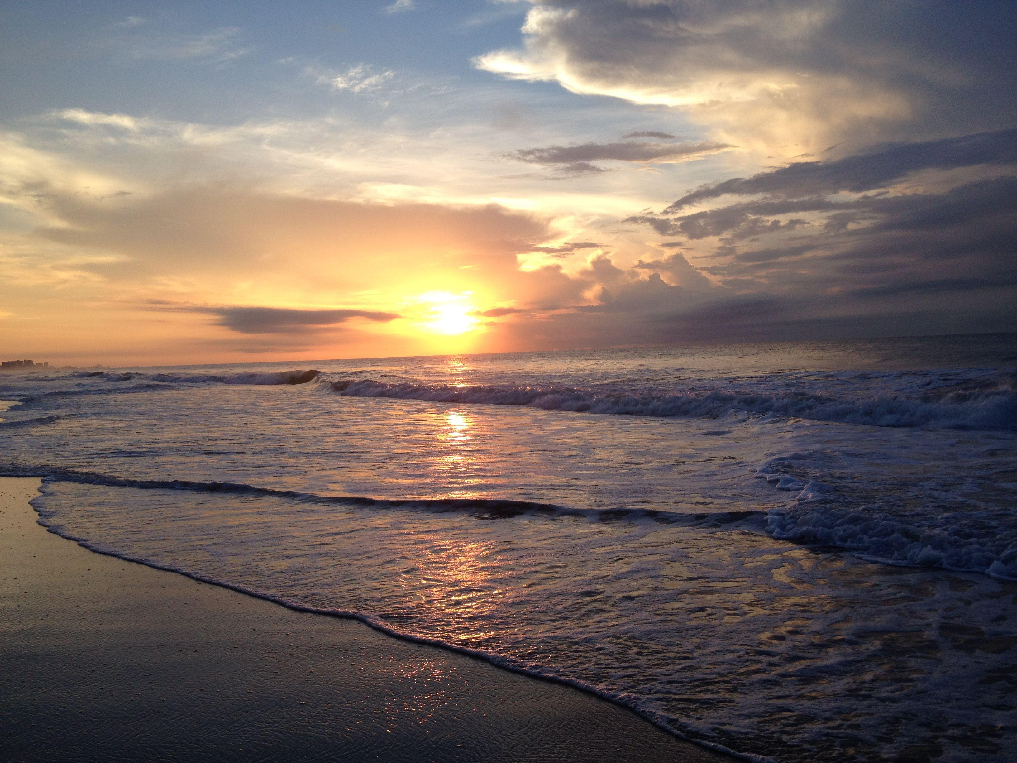 Surfside Beach, SC at sunrise Surfside beach, Surfside