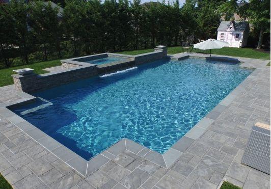 Rectangular In Ground Pool Rectangular Pool In Ground Pools