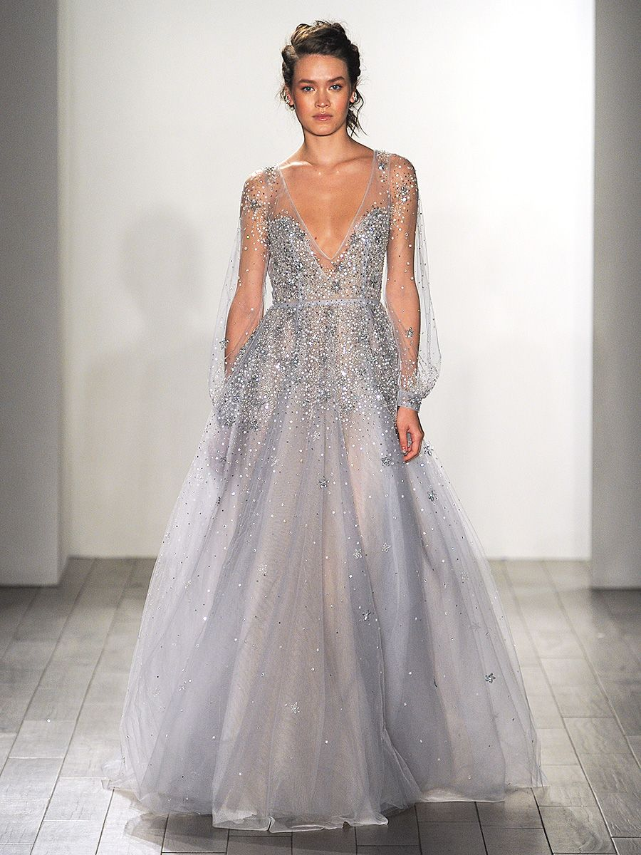 wedding dresses, Blue wedding gowns