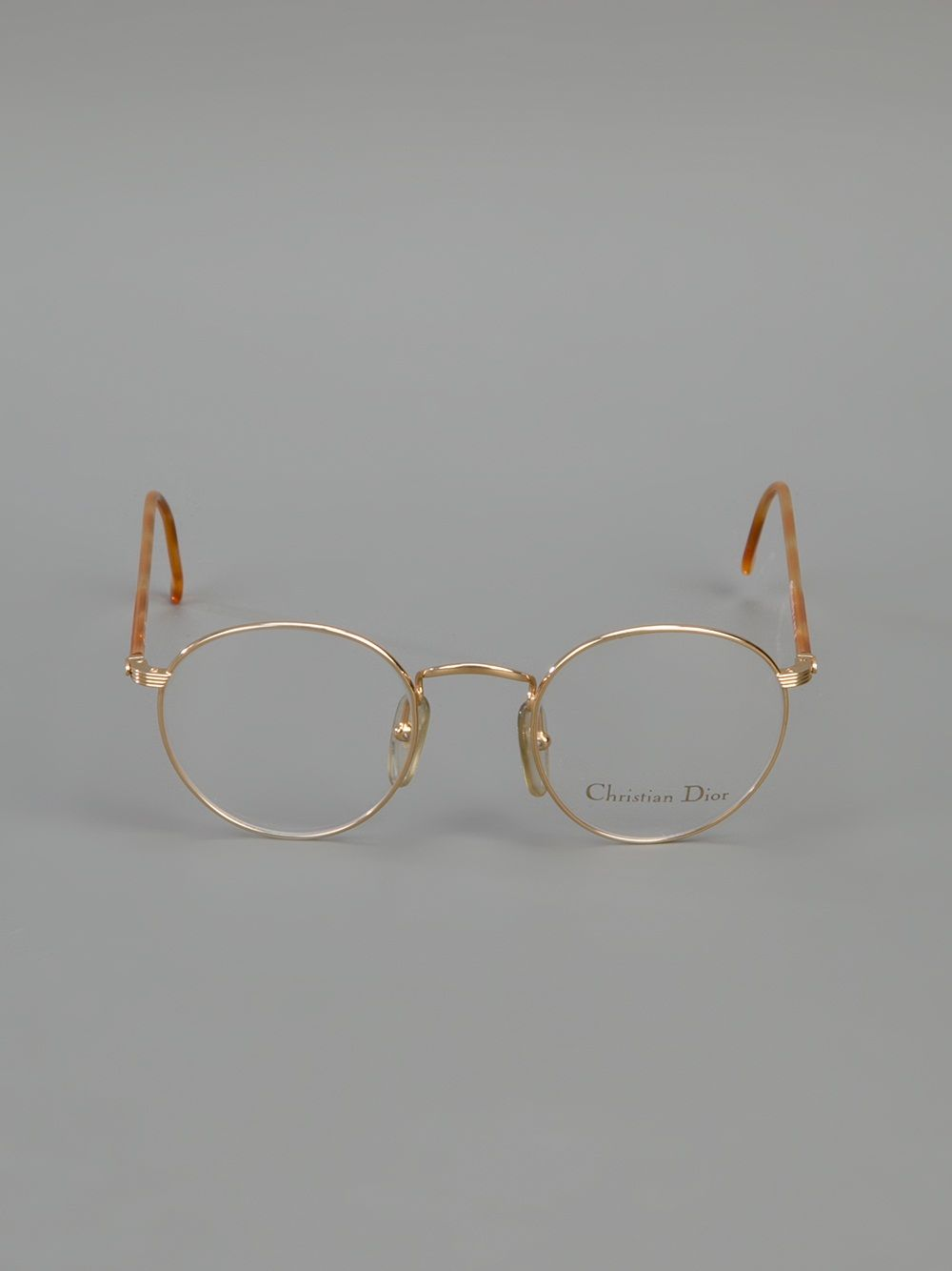 4adee21873 CHRISTIAN DIOR VINTAGE round frame glasses