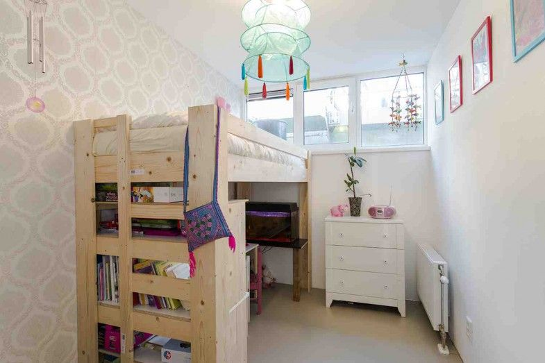 Hoogslaper kinderkamer interieurinspiratie pinterest - Mezzanine jongen ...