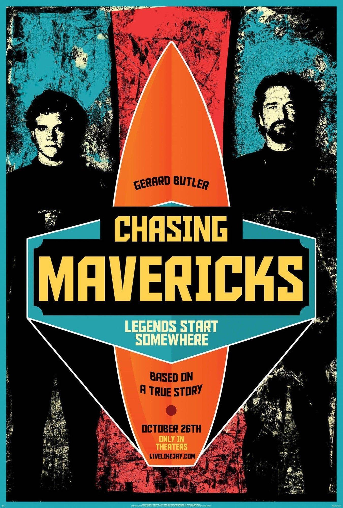 Chasing Mavericks Tudo Por Um Sonho Filmes Gerard Butler