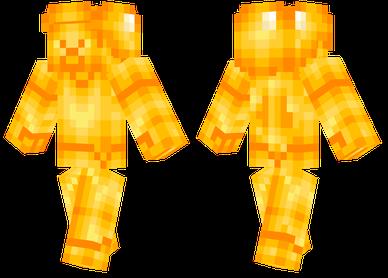 Golden Steve Minecraft Skins Minecraft Minecraft Skins Hd