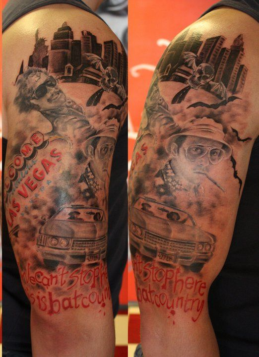 My Very Own My Very Precious Fear And Loathing In Las Vegas Tattoo