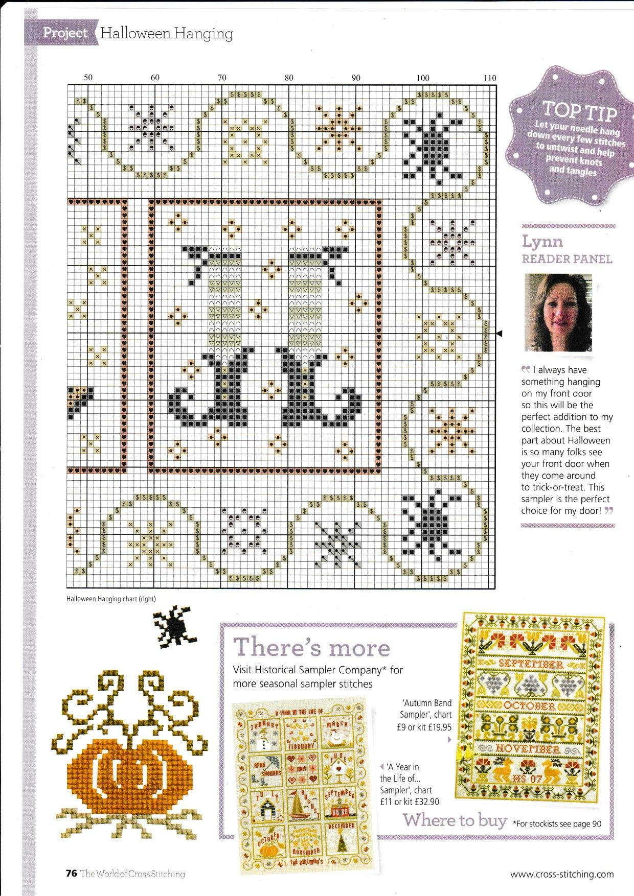 Pin by Deb Sartain on Halloween and Fall Cross Stitch II | Pinterest ...
