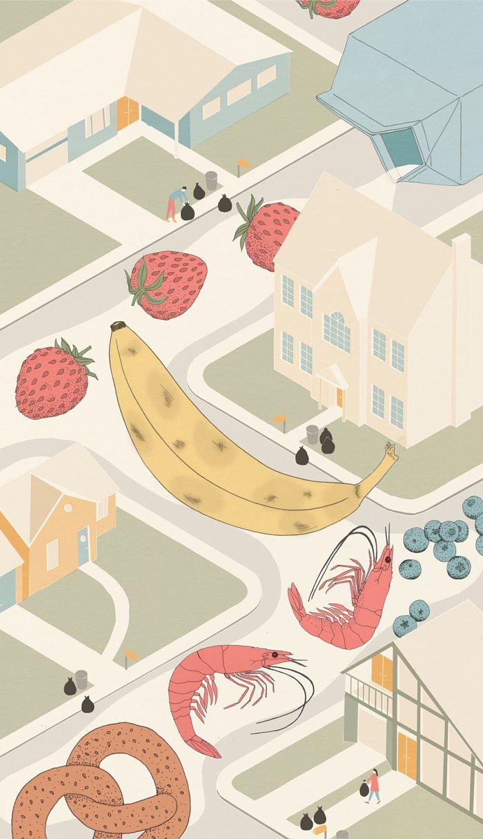 Hopkins Magazine Illustration Illustration Art Contemporary