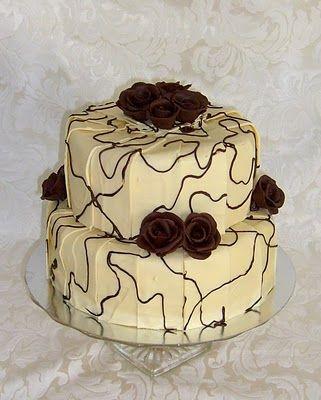 Kakemomsen: Bryllupskaker Wedding Cake