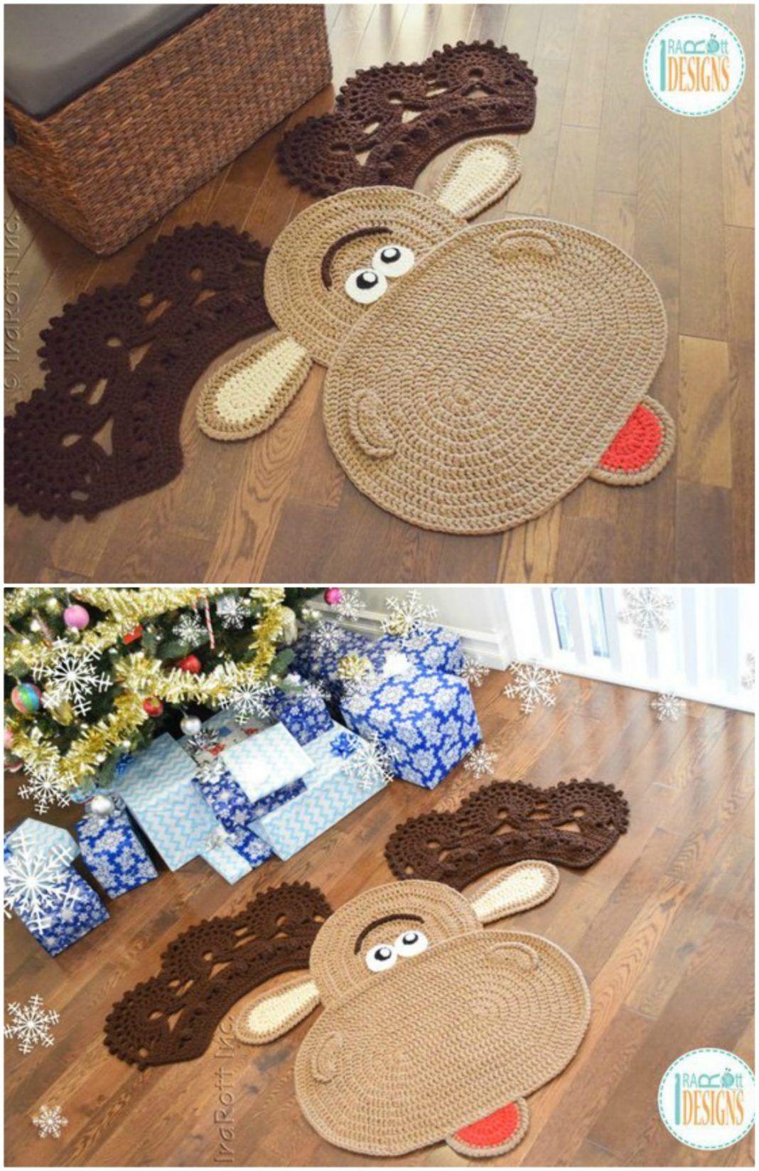 Crochet Animal Rugs By Irarott Etsy Best Ideas In 2020 Animal Rug Crochet Rug Crochet Pattern Shawl Wrap