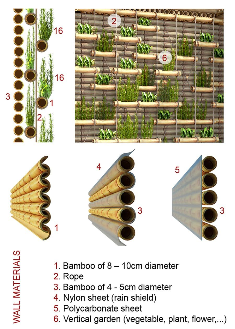 Low Cost Blooming Bamboo Home Built To Withstand Floods Bamboo