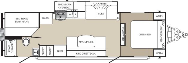 Palomino to website. Ultra lite trailer good floor plan