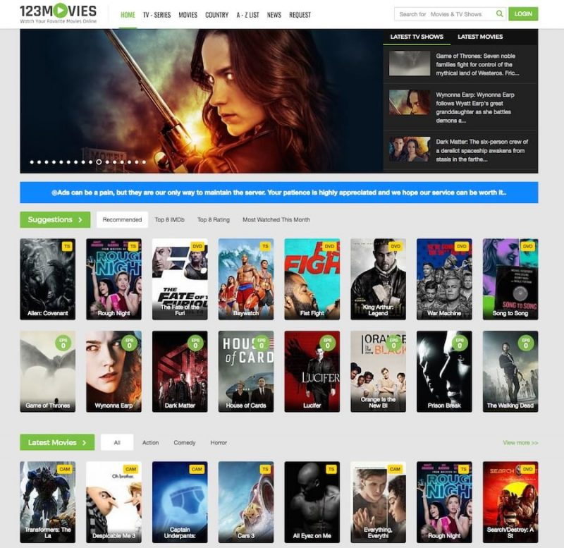 30 Best 123movies Alternatives To Watch Movies For Free Hobpost In 2020 Free Tv And Movies Streaming Movies Free Free Tv Shows Online