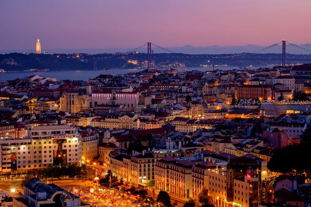 Lisboa Paris Skyline My Images Skyline