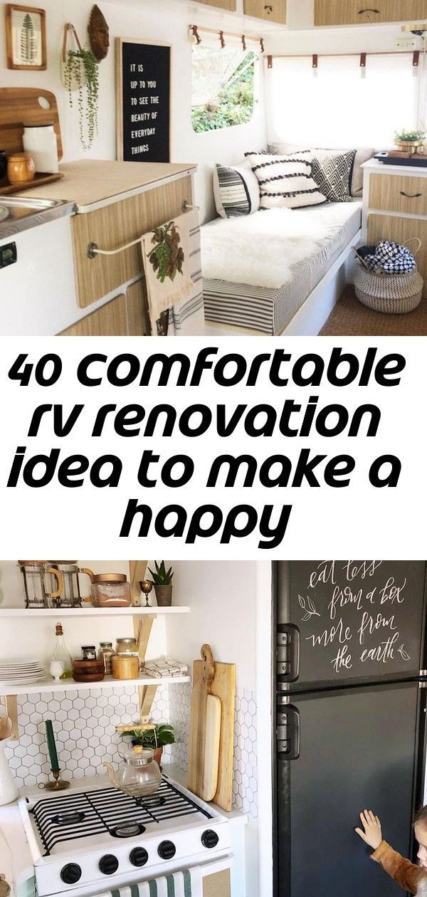 15 of the most beautifully renovated RV to inspire your camper or 5th wheel restoration Cheap And E