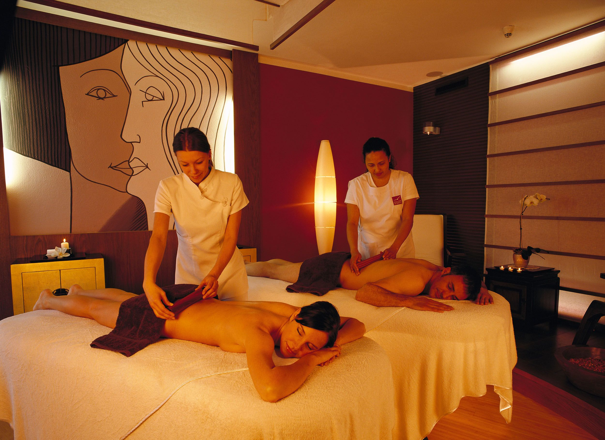 Couples massage go to sleep and start snoring perhaps for Luxury spa weekends for couples