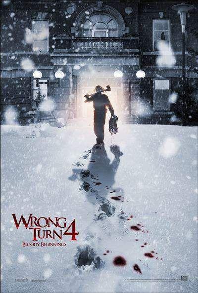 Camino Hacia El Terror 4 Wrong Turn Horror Movies English Movies