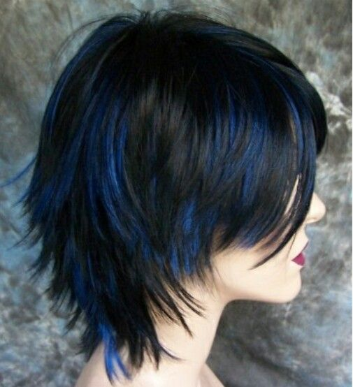 Loving these blue highlights hair makeup nails skin care creative hair color loving these blue highlights pmusecretfo Choice Image