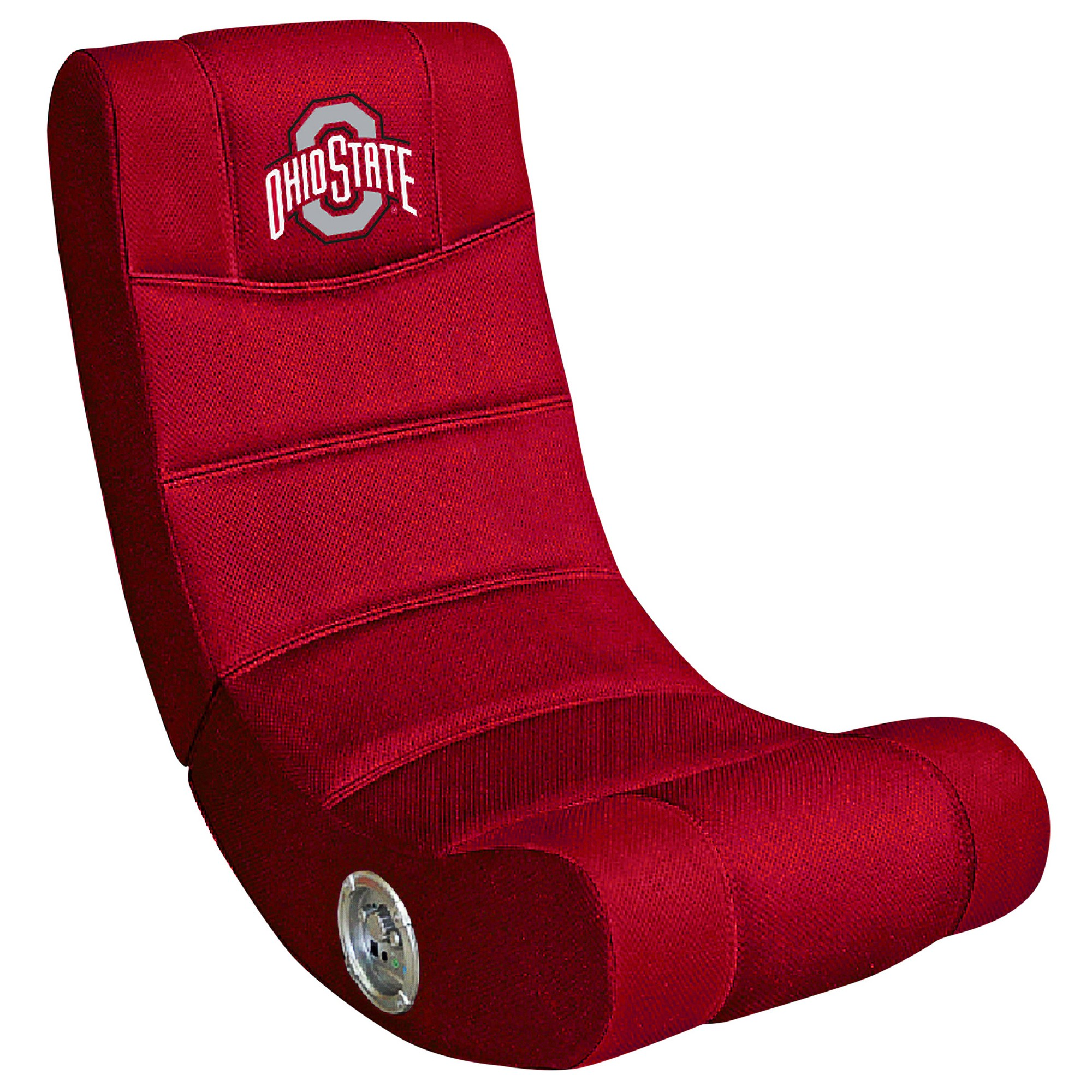 NCAA Imperial Video Game Chair with Bluetooth Ohio State