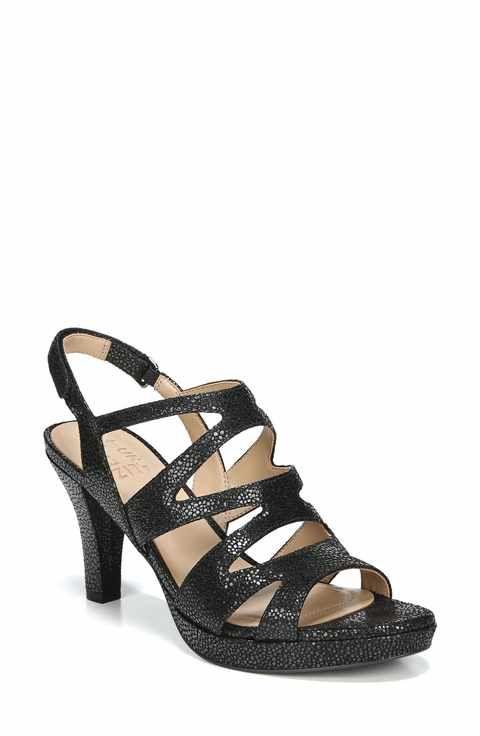 Naturalizer Women's 'Pressley' Slingback Platform Sandal