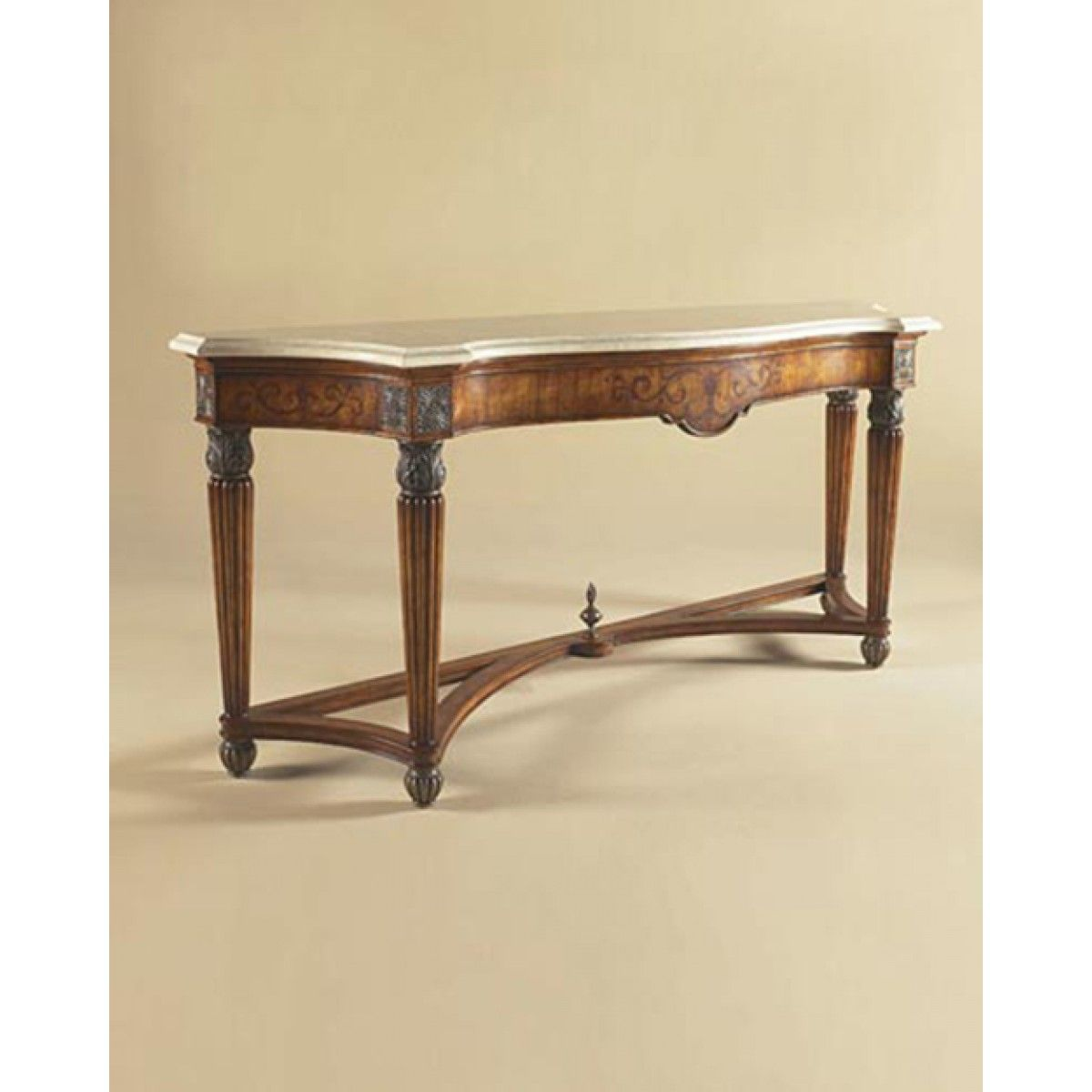 Maitland smith antique lido finished console table primavera maitland smith antique lido finished console table primavera veneers mactan stone top geotapseo Gallery