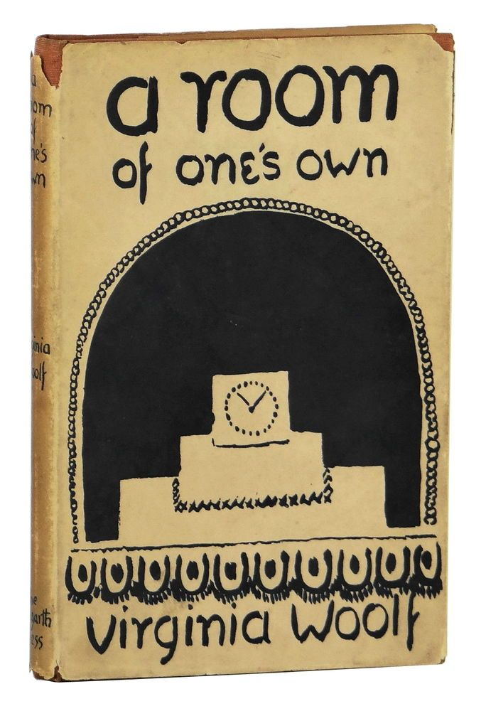 A Room Of One S Own Virginia Woolf First Edition 1929 1st Orig Dust Jacket Room Of One S Own Classic Books Virginia Woolf